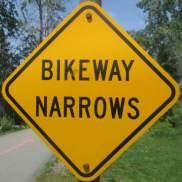Bikeway-narrows-sign-Missoula-River-Front-Trails-MT-5-18-2016