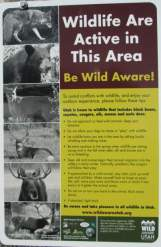 Be-wild-aware-sign-Union-Pacific-Rail-Trail-Park-City-to-Echo-UT-5-1-2016