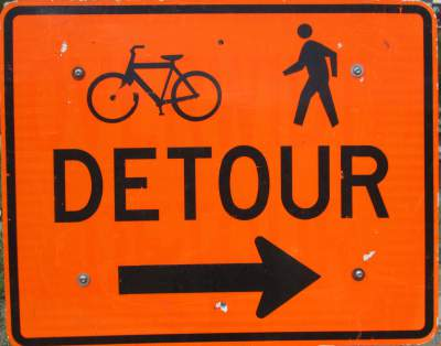 Detour-sign-Mickelson-Trail-SD-5-28-to-6-1-2016