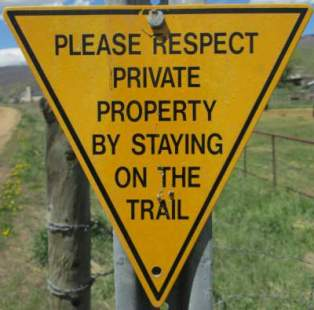 Respect-private-property-sign-Union-Pacific-Rail-Trail-Park-City-to-Echo-UT-5-1-2016