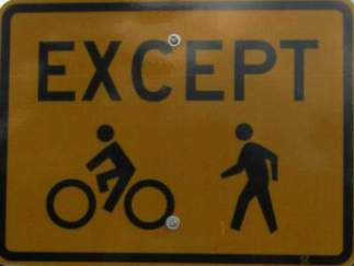 Except-bike-peds-sign-Springwater-Corridor-Portland-OR-4-25-2016
