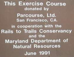 Exercise-course-sign-Torrey-C-Brown-Rail-Trail-MD-10-4-2016