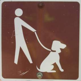 Dog-on-leash-sign-Mickelson-Trail-SD-5-28-to-6-1-2016