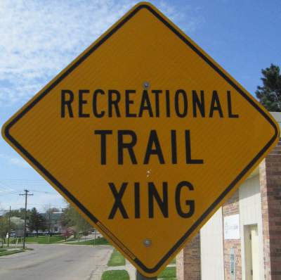 Xing-sign-Elroy-Sparta-Trail-WI-5-8&9-17
