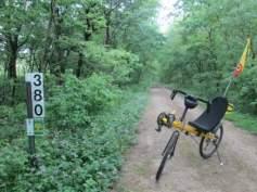 Jim-Schmid's-Bacchetta-Giro-recumbent-MP-380-Wabash-Trail-IA-5-17-17