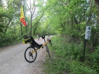 Jim-Schmid's-Bacchetta-Giro-recumbent-MP-403-Wabash-Trail-IA-5-16-17