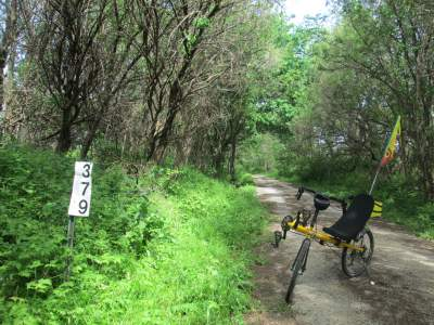 Jim-Schmid's-Bacchetta-Giro-recumbent-MP-379-Wabash-Trail-IA-5-17-17