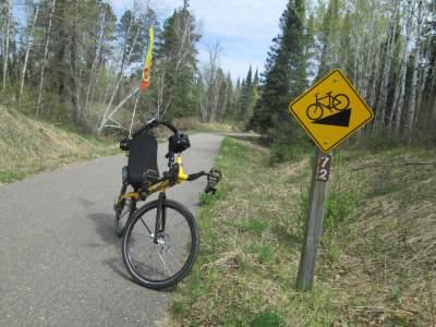 Jim-Schmid's-Bacchetta-Giro-recumbent-MP-72-Paul-Bunyan-Trail-MN-5-13-17