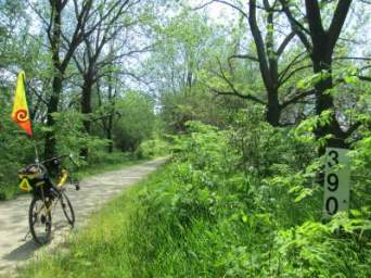 Jim-Schmid's-Bacchetta-Giro-recumbent-MP-390-Wabash-Trail-IA-5-16-17