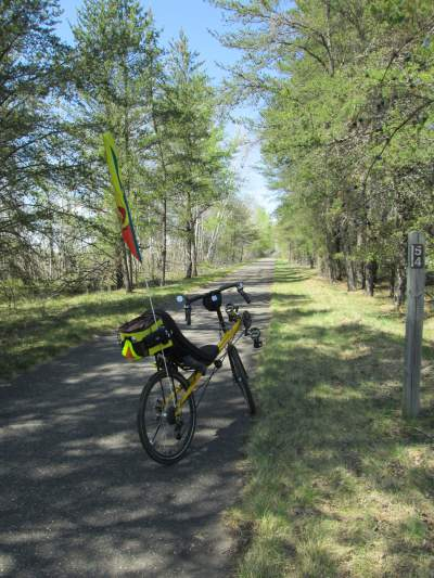 Jim-Schmid's-Bacchetta-Giro-recumbent-MP-54-Paul-Bunyan-Trail-MN-5-12-17