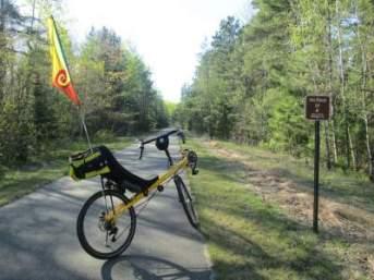 Jim-Schmid's-Bacchetta-Giro-recumbent-RP-4-Paul-Bunyan-Trail-MN-5-13-17