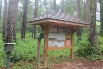 Kiosk-sign-Cathedral-Aisle-Trail-Aiken-SC-6-21-17