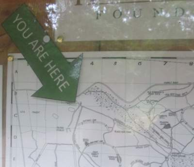 Map-sign-Cathedral-Aisle-Trail-Aiken-SC-6-21-17