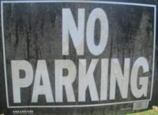 No-parking-sign-Cathedral-Aisle-Trail-Aiken-SC-6-21-17