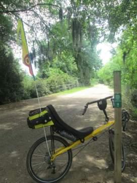 Jim-Schmid's-Bacchetta-Giro-recumbent-Tow-Path-Augusta-Canal-GA-6-21-1