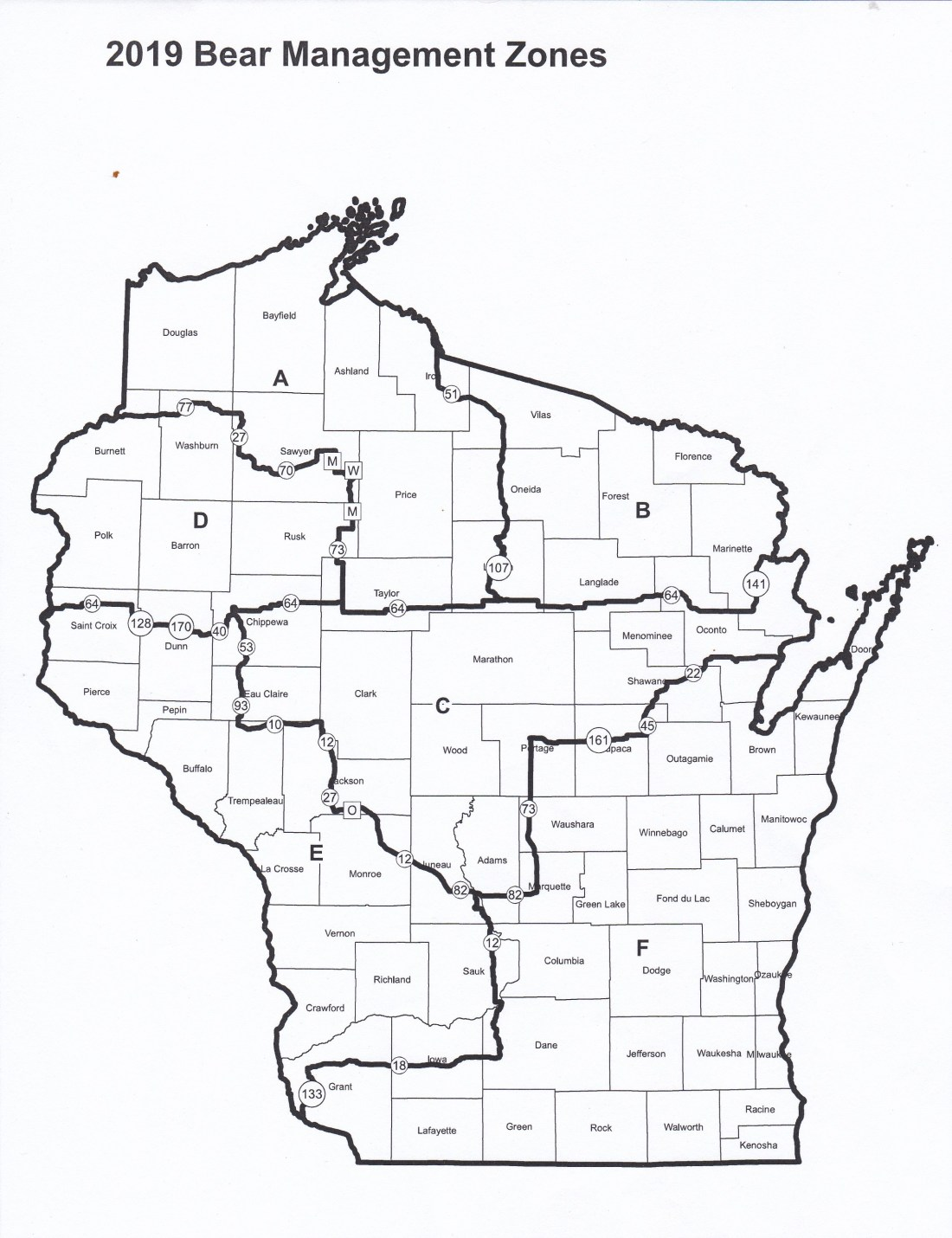 hight resolution of wisconsin s new bear hunting plan