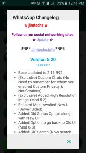 WhatsApp plus JiMODs v5.20 Jimtechs Editions