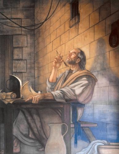 Paul in Prison by Ben Long