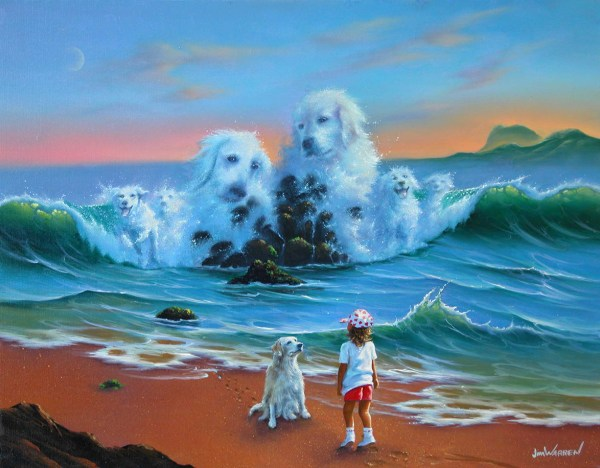 Artist Jim Warren Paintings