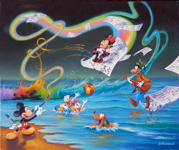 Disney Fine Art JimWarrencom