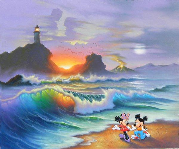 Jim Warren Disney Art