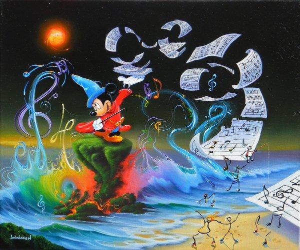 Jim Warren Disney Paintings