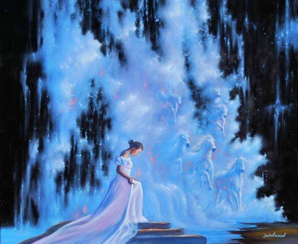 Jim Warren Painting Surreal