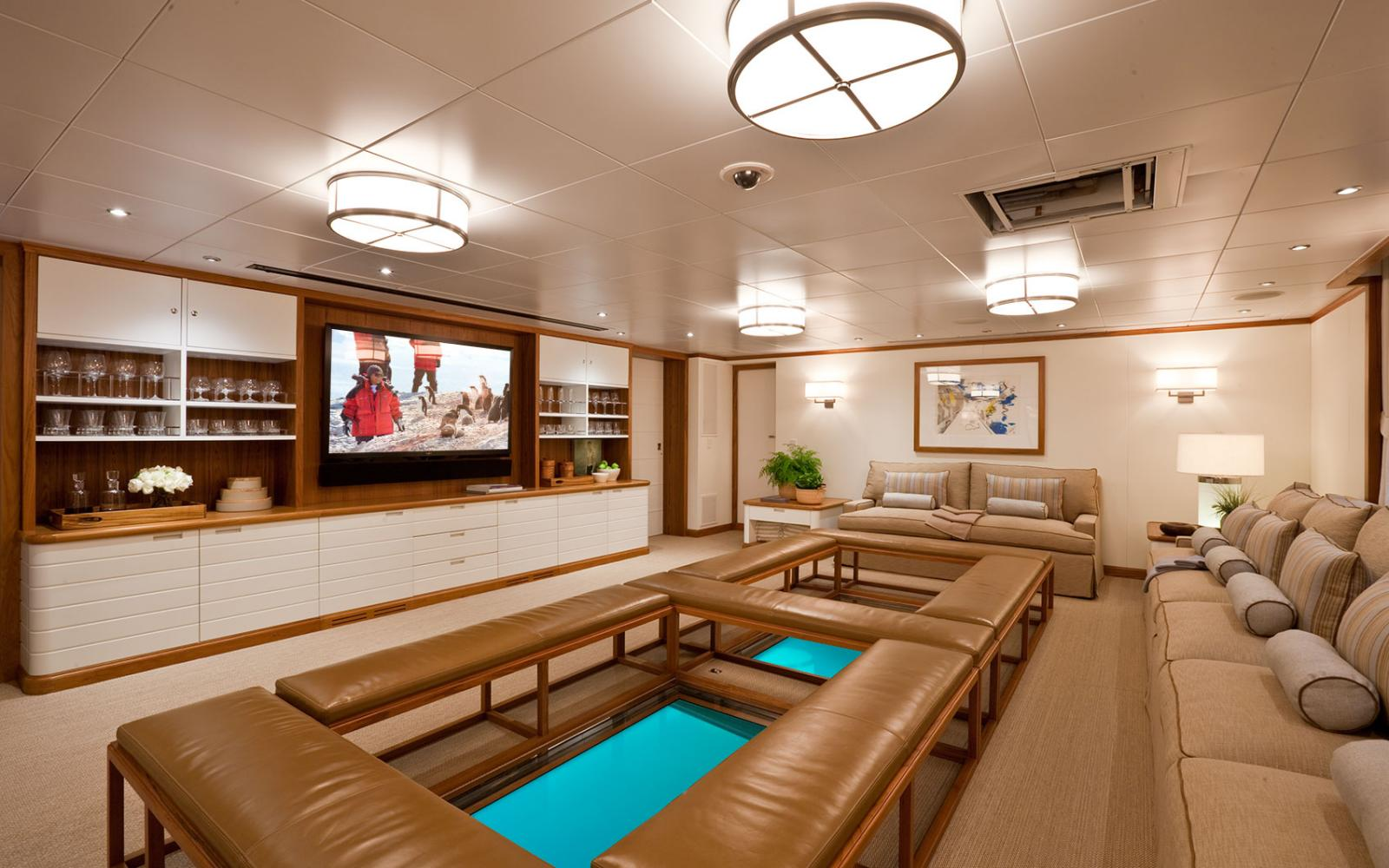 YACHT SURI WorldClass Yacht Interior Superbly Finished