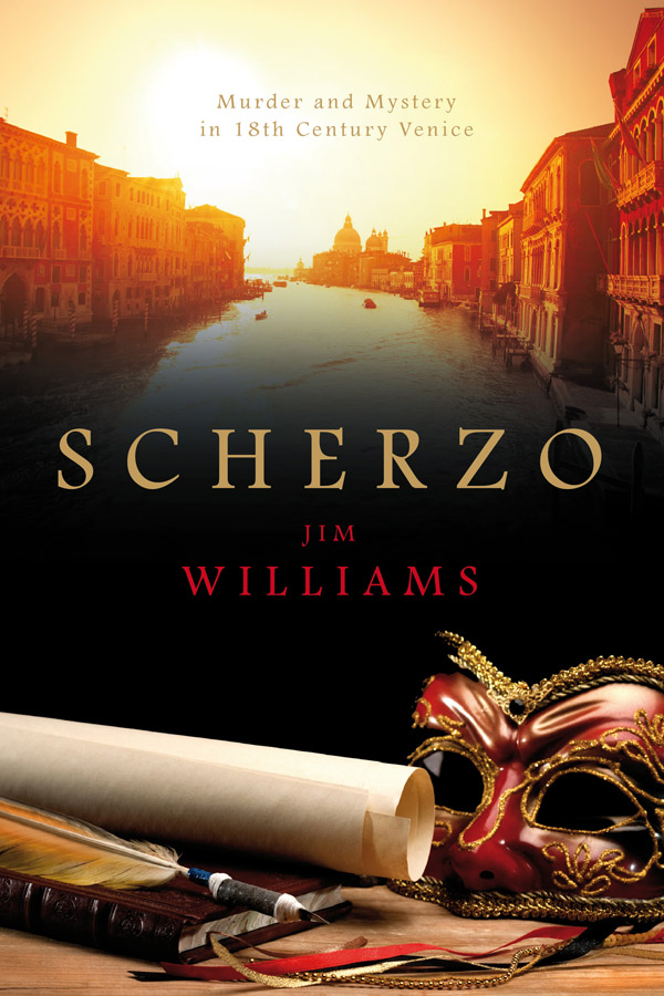 Jim Williams Books - Scherzo Cover
