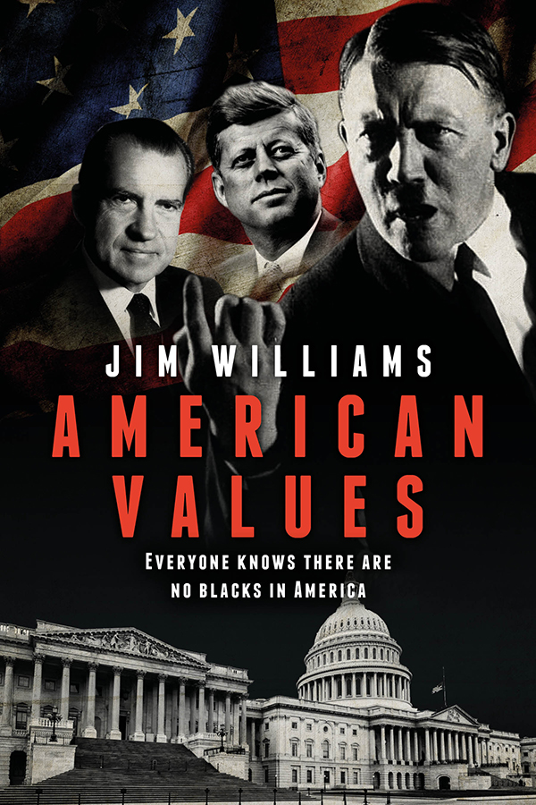 Jim Williams Books American Values Cover