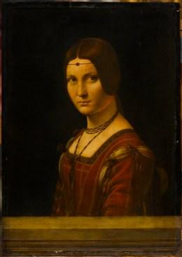 La Belle Ferroniere, about 1490