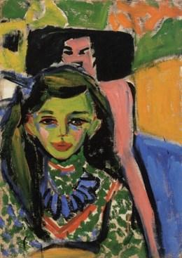 Ernst Ludwig Kirchner_fraenzi vor einem geschnitzten sessel_1910_TyhssenBornemisza Collection_co VBK Wien 2006_sm