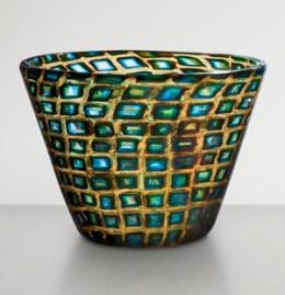4. Truncated cone-shaped glass vase of murrine romane_Scarpa_300