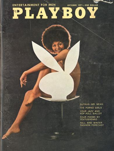 Bunny Chair, ca. 1971 Playboy, Designer October 1971 Playboy Issue © Playboy Enterprises International, Inc.
