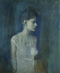 파블로 피카소(Pablo Picasso) 「블라우스 차림의 여인(Femme à la chemise)」 ca. 1905년 경.