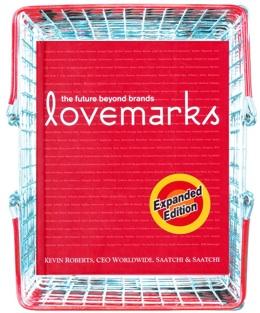 케빈 로버츠 저 『러브마크』증보판 표지. 도서출판 서돌에서 한국어판이 출판되었다.