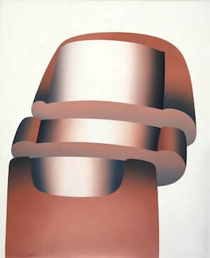 람베르트 마리아 빈터스베르거(Lambert Maria Wintersberger) 『분열 제10번(Spaltung 10)』, 1969년, Acrylic on canvas 140 x 115 cm. Museum Morsbroich, Leverkusen © VG Bild-Kunst, Bonn 2014 Photo: Friedrich Rosenstiel, Cologne.