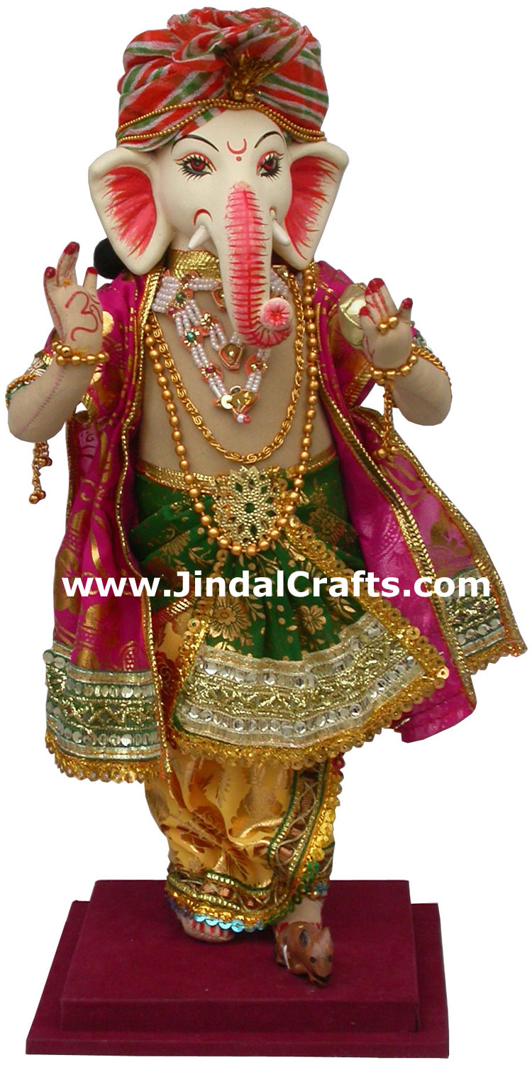 Lord Ganesha Handmade Traditional Indian Collectible