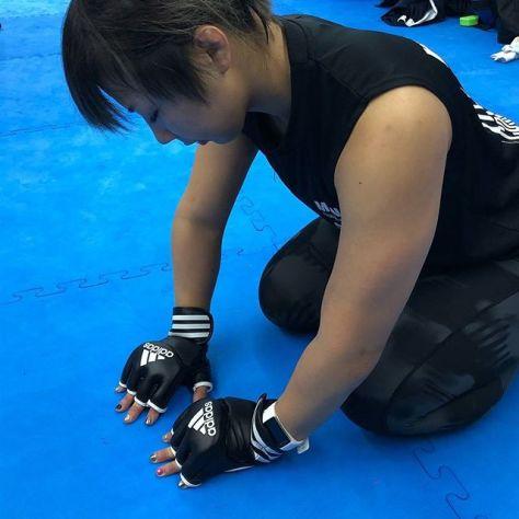 JIN FIGHT adidas MMA & BJJのスポンサードアスリート 三浦彩佳選手#三浦彩佳 #ゾンビ #アディダスMMA #adidasmma #jinfight #オープンフィンガー #グローブ #総合格闘技