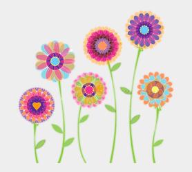 Blue Floral Clip Art Children Watercolor Flower Floral Transparent Background Flower Clipart Cliparts & Cartoons Jing fm