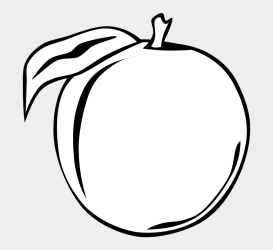 Apple Fruit Clipart Black And White Apple Coloring Illustration Cliparts & Cartoons Jing fm
