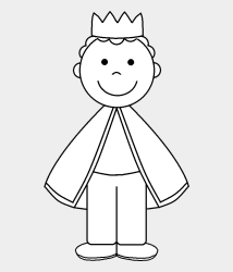 King Clipart Black And White 75461 Black And White King Clip Art Cliparts & Cartoons Jing fm