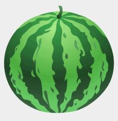 watermelon whole clipart clip jing cartoons fm