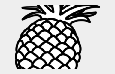 Strawberry Clipart Outline Pineapple Clipart Black And White Png Cliparts & Cartoons Jing fm