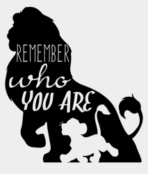 Lion King Silhouette Png Lion King Remember Who You Cliparts & Cartoons Jing fm