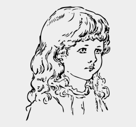 Girl Face Head Black And White Curly Hair Quote So Much To Do So Little Time Cliparts & Cartoons Jing fm