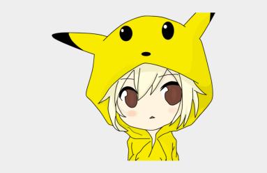 Anime Boy Clipart Pikachu Cute Chibi Pikachu Boy Cliparts & Cartoons Jing fm