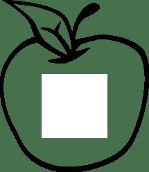 Apple Stem Clipart Clip Art Black And White Apple Transparent Cartoon Jing fm