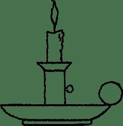 Digital Stamp Design Candle Light Clip Art Black And White Transparent Cartoon Jing fm