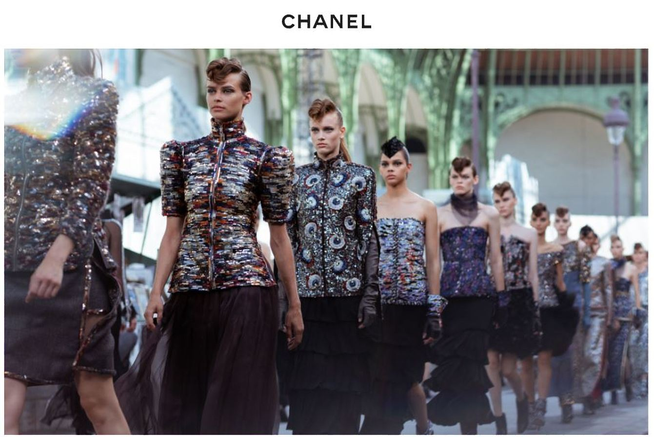 how luxury brands can best showcase themselves through a